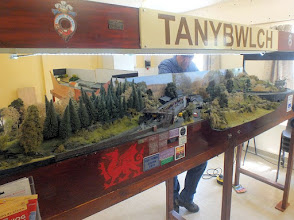Photo: 011 The first layout featured is Nigel Smith's 009 Tanybwlch, a present day model of the well known passing station on the Festiniog Railway. I would love to see this layout at a show sited next to Angus Watkins' model of the same station, but featured in the c1900 period. It would make a fascinating comparison of how little the actual station has changed in a century but how the setting and particularly the vegetation has grown .