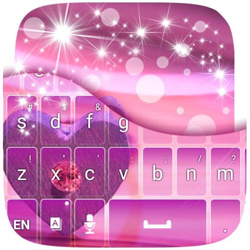 紫色的爱情主题键盘 個人化 App LOGO-硬是要APP