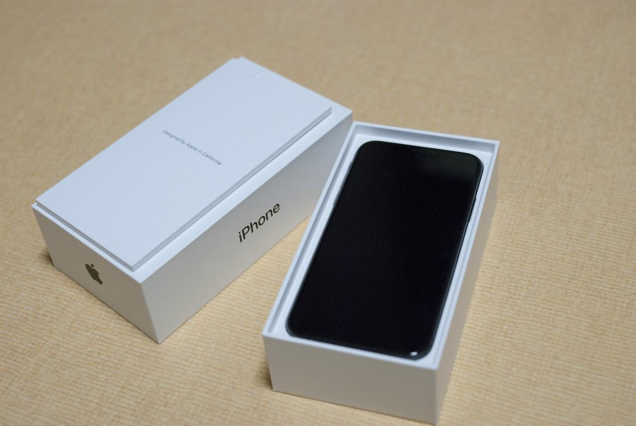 iPhone XS 박스