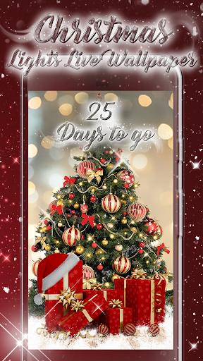 Christmas Lights Live Wallpaper: Xmas Countdown 2.0.2 screenshots 1