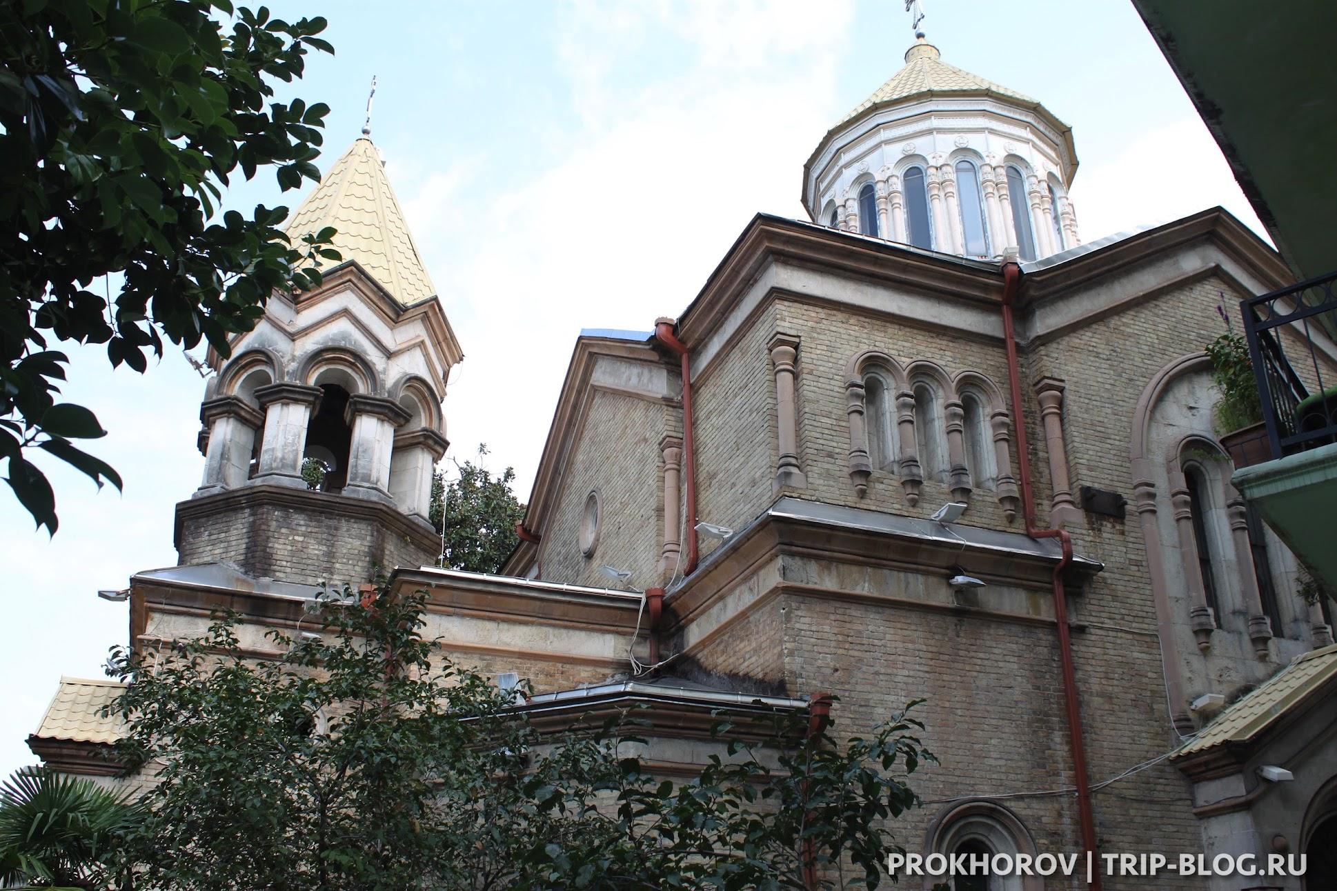 Армянская церковь Христа Всеспасителя