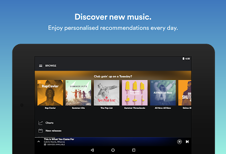 Spotify: Free Music Streaming- screenshot thumbnail