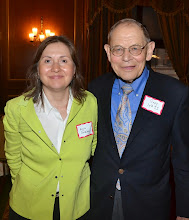 Photo: Chief Justice Angela Ordonez (Probate & Family Court) and Judge Rudy Kass (the Mediation Group).