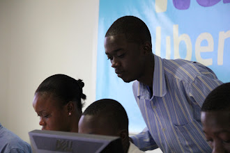Photo: Luther Jeke, iLab's Director of Training.