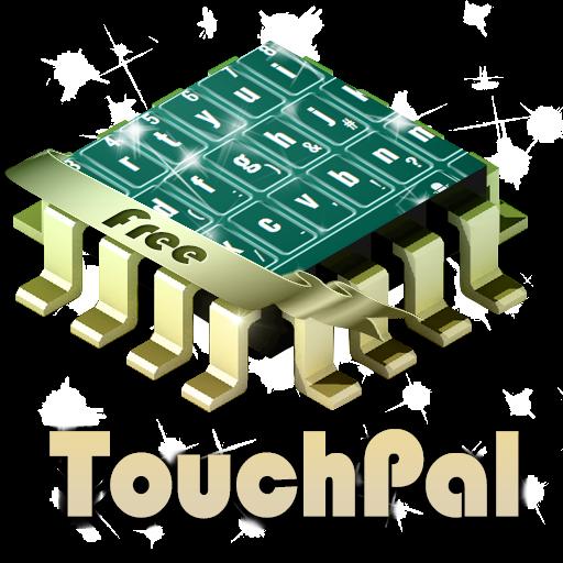 自然蓝色 TouchPal 個人化 App LOGO-APP開箱王