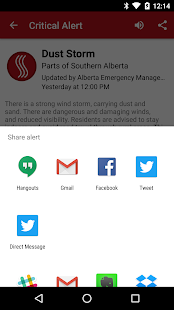 Alberta Emergency Alert- screenshot thumbnail
