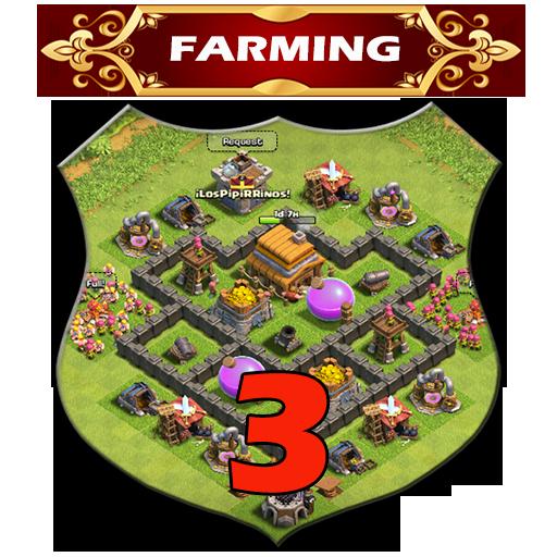 Town Hall 3 Farming Base Layouts