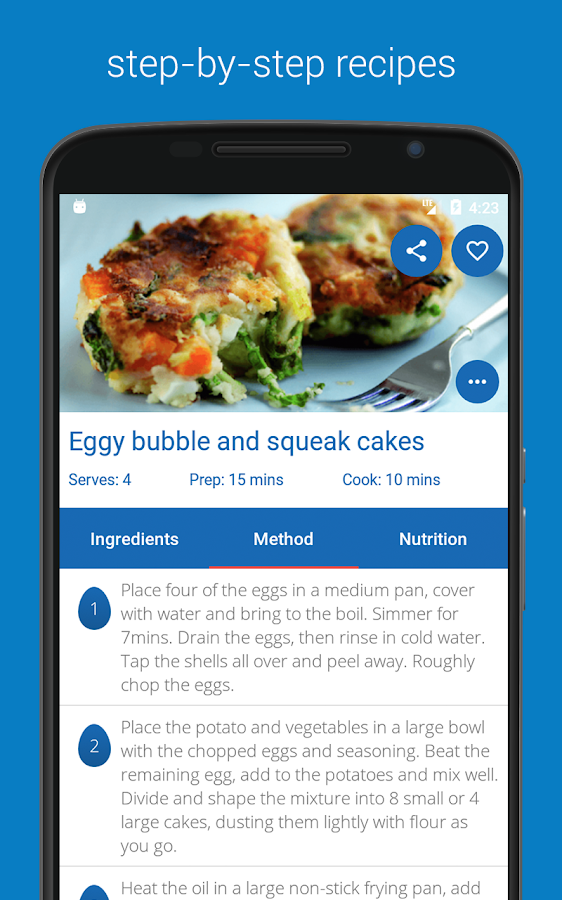 Egg Recipes - Quick, Easy & Healthy Recipes- screenshot
