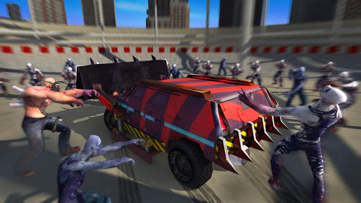 Zombie Smash : Road Kill  screenshots 1