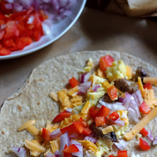 Healthy Breakfast Burritos