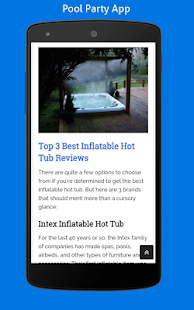 PoolPartyApp- screenshot thumbnail