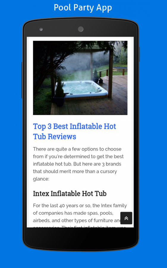 PoolPartyApp- screenshot