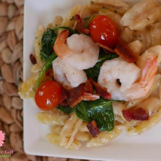 Easy Parmesan Shrimp Pasta