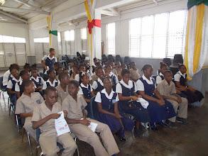 Photo: Dental health class at DuPont School