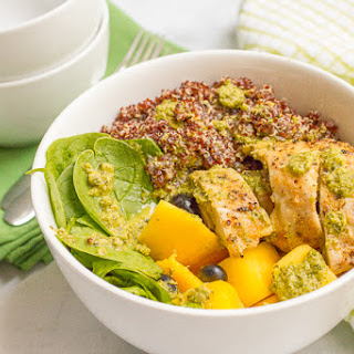 Chicken Quinoa Salad Bowls