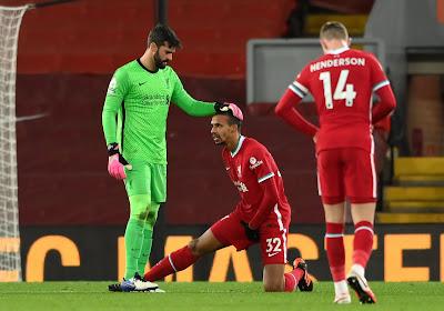Liverpool enregistre une nouvelle entrée à l'infirmerie