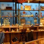 the layout of hedgehog cafe HARRY in Tokyo in Tokyo, Tokyo, Japan