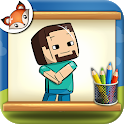 How to Draw Minecraft step by step Drawing App icon