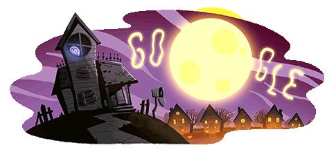 Halloween Doodle- 2020 Google Doodles