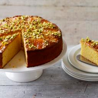 Apricot Almond Cake with Rosewater and Cardamom Recipe
