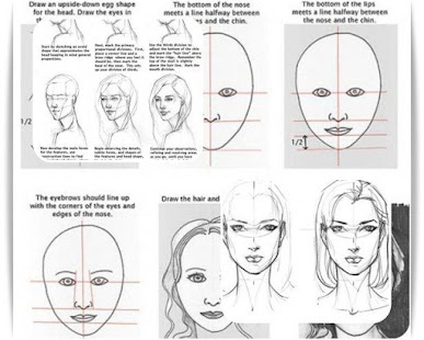 Learn to Draw Girl Face- screenshot thumbnail