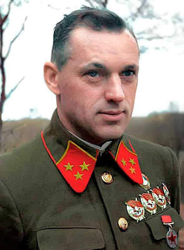 Рокоссовский К.К. - командующий 16 А