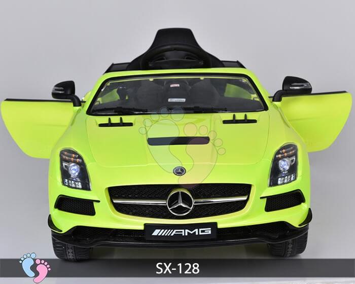 Xe hơi điện trẻ em SX-128 ghế da 9