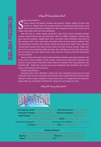 Majalah Albinaa Edisi 5