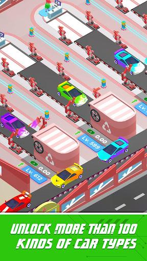 Idle Assemble Car apkpoly screenshots 3