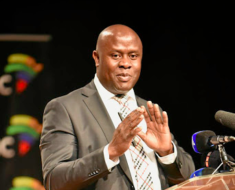 SABC acting CEO James Aguma. Picture: FINANCIAL MAIL