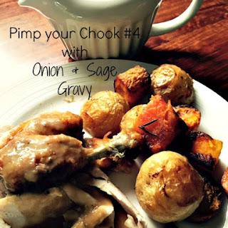 Sage & Onion Chicken Gravy