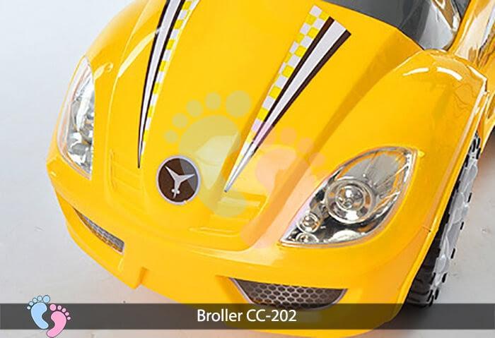 Xe chòi chân trẻ em Broller CC 202 11
