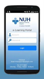 e-Learn@NUH- screenshot thumbnail