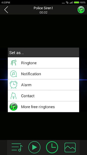 Real Siren Ringtones 1.2 screenshots 3