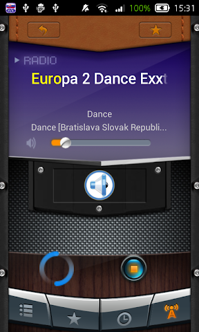 android Radio Slovak Republic Screenshot 0