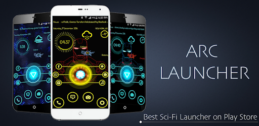 ARC Launcher Free App (APK) scaricare gratis per Android/PC/Windows screenshot