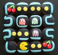 Photo: Pacman Cakes