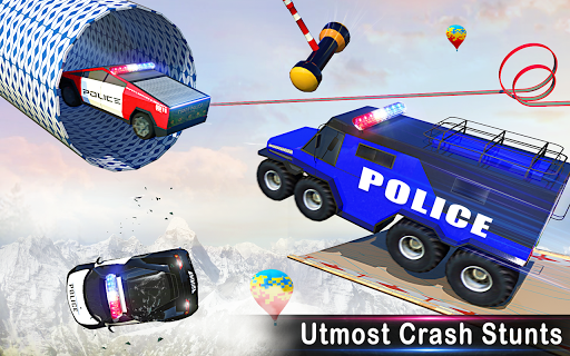 Police Ramp Car Stunts GT Racing Car Stunts Game 1.3.0 screenshots 10