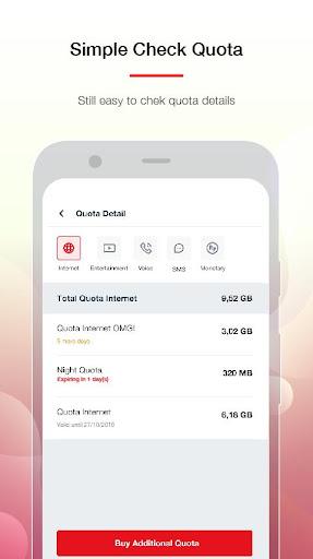 MyTelkomsel Lite – Check Quota & Buy Package screenshot 5