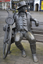 "Photo: Bridge and Road builder ""Blind Jack"" pioneer civil engineer 1717 - 1810 I think I prefer the black and white version"