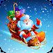 Santa Draw Ride - Winter Sleigh Runner - Androidアプリ