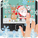 Cartoon Christmas Keyboard Theme Icon