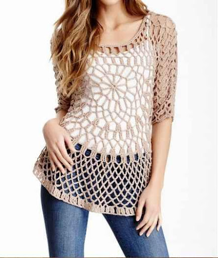DIY Crochet Tunic Ideas