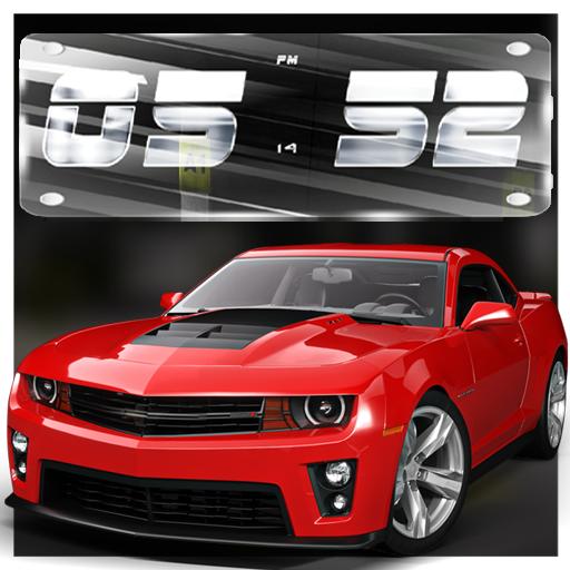 3d Super Cars Clock Wallpaper Hd Apps On Google Play