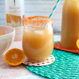 Tangerine Champagne Punch.