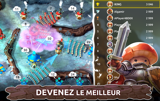 Télécharger Mushroom Wars 2 - RTS et Tower Defense Épique mod apk screenshots 4