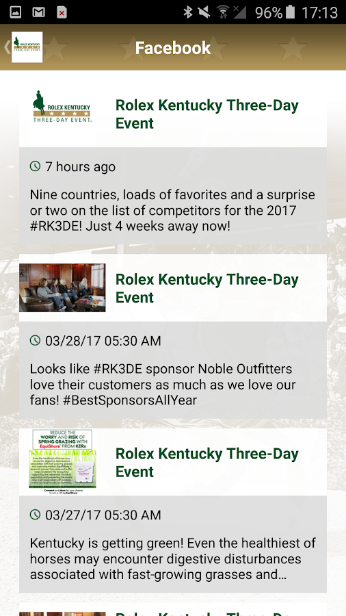 Rolex Kentucky Three-Day Event- screenshot