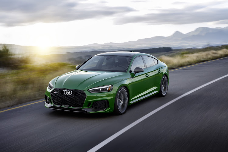 The RS 5 Sportback is even quicker than the RS 4 Avant, albeit with less boot space.