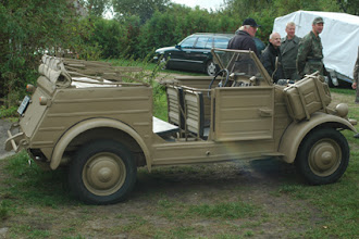 Photo: leichter Kübelwagen Typ 82