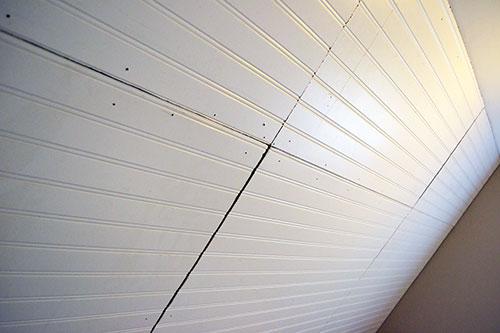 vinyl beadboard ceiling common
